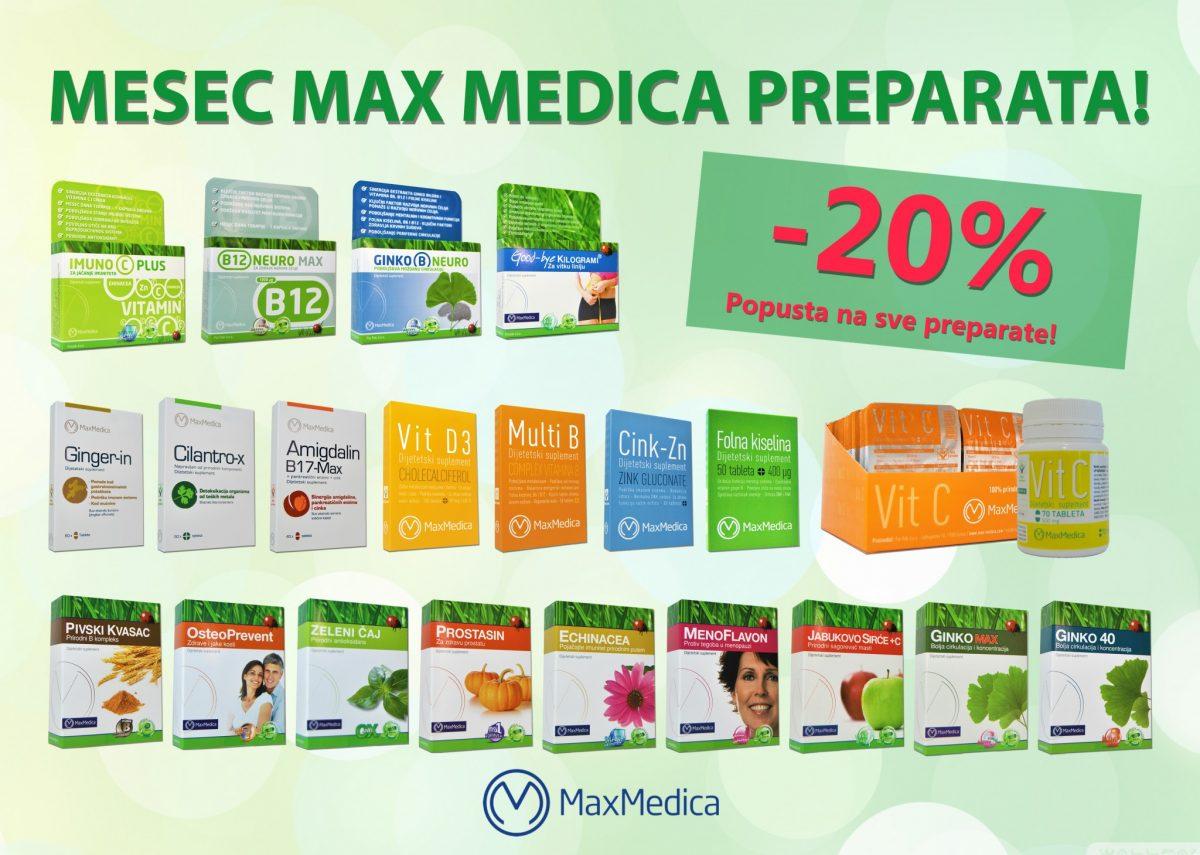 Mesec Max Medica 20% WEB