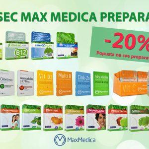 Max medica -20%